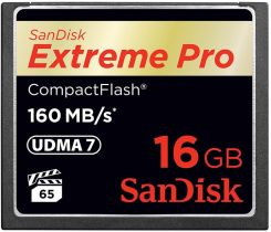 Karta Pamieci Do Aparatu Sandisk Extreme Pro Compact Flash 16gb