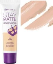 Rimmel London Stay Matte Liquid Mousse Foundation 30ml Make-up 100 Ivory