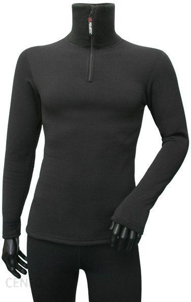 bluza kwark męska czarna z kapturem