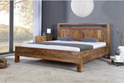 Homelike Romantic Drewniane łóżko 180x200 Cm I19646 Opinie I
