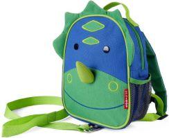43e5be61d97a7 Skip Hop Plecak Baby Zoo Dinozaur Ze Smyczą Bezpieczeństwa 212255