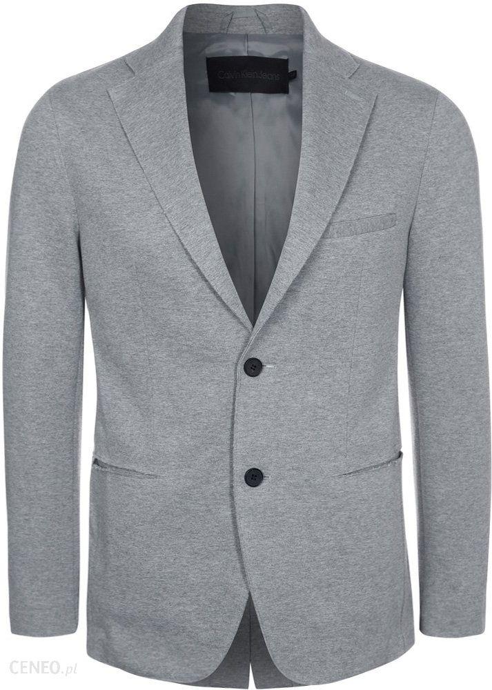 46193e17149e8 Calvin Klein Jeans BENNETT Marynarka szary - Ceny i opinie - Ceneo.pl