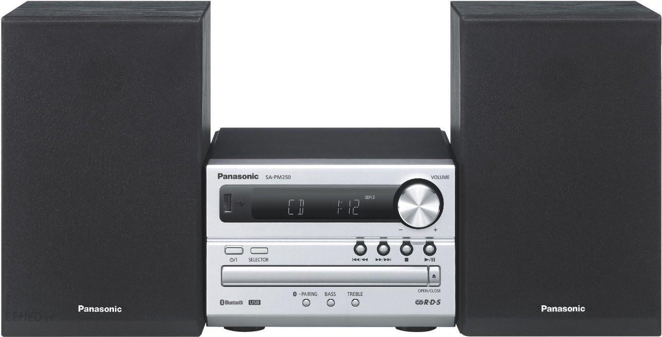 Panasonic SC-PM250 srebrny