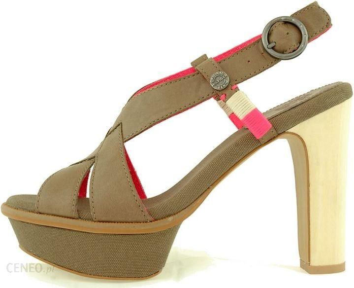 54b856327724b Damskie sandały na obcasie Tommy Hilfiger 2031-314 - Ceny i opinie ...