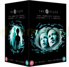 The X Files - Complete Season 1-9 (DVD)