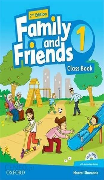 Nauka angielskiego Family and Friends: Level 1: Class Book ...
