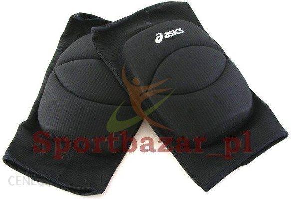 Asics Nakolanniki Basic Czarne L 672543 0900
