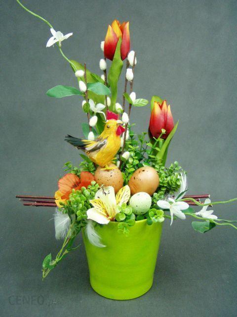 Bazie Kogut Tulipany Rude Doniczka Zielona 569 Stroik Na Wielkanoc Stroiki Na Wielkanoc Opinie I Atrakcyjne Ceny Na Ceneopl