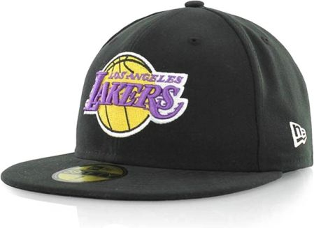 czapka NEW ERA - S BASIC NBA LOSLAK 1185 BLACK/TEAM (1185)