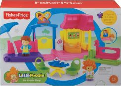 Fisher-Price Little People Kawiarenka Bhg09 - zdjęcie 1