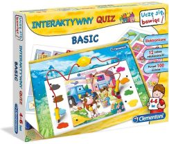 Clementoni Interaktywny Quiz Basic 60062