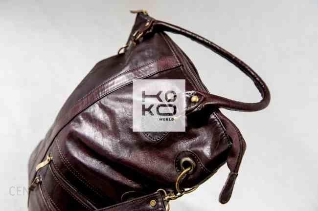 e41db7b636cd4 Skórzana torebka z Maroka - Ceny i opinie - Ceneo.pl