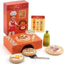 Pizza Luigi Dj06637 Djeco Mała Kuchnia Dla Dzieci