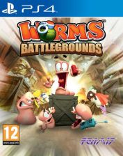 Worms Battlegrounds (Gra PS4)