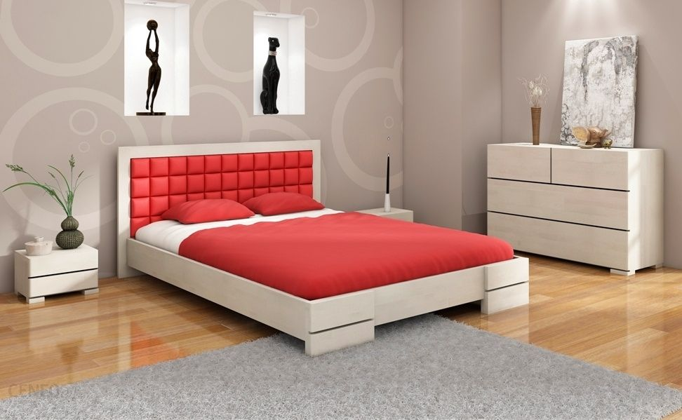 Visby łóżko Bukowe Gotland