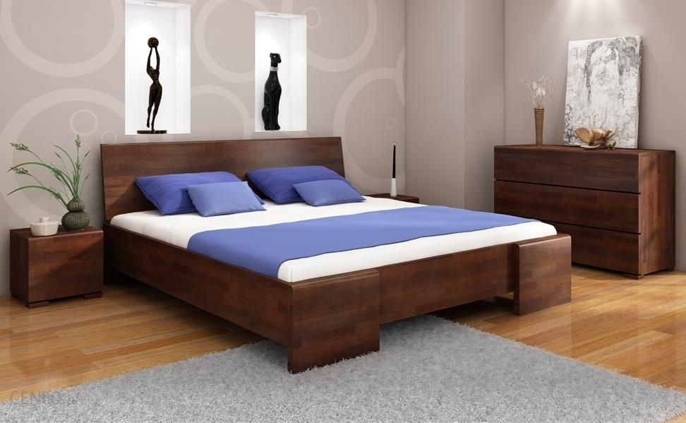 Visby łóżko Bukowe Hessler High