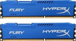 Kingston HyperX Fury 8GB DDR3 1600MHz CL10 (HX316C10FK2/8)