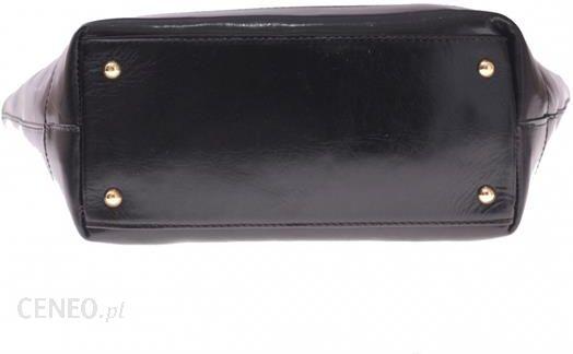 a31edf7e2af1a ... Torebka skórzana typu Shopperbag Łódka Czarna (kolory) - zdjęcie 6 ...