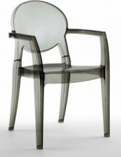 Krzesło biurowe Miss B Up Antishock transparentne Krzesła