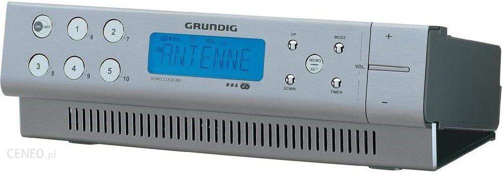 Radiobudzik Grundig Sonoclock 890 srebrny (GKL0451 ...