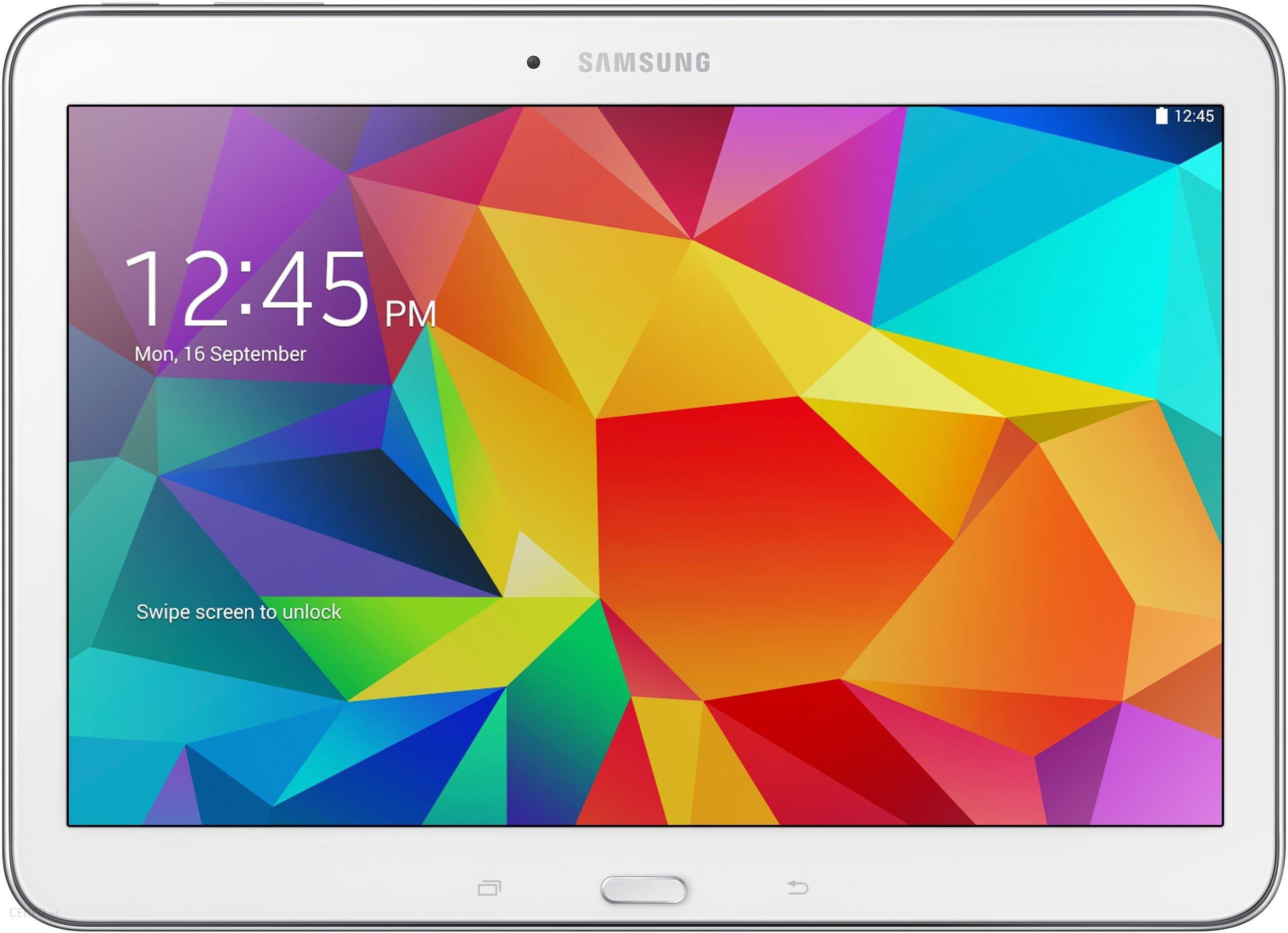 7dd1a243a24 Tablet PC Samsung Galaxy Tab 4 10.1 16G LTE Biały (SM-T535NZWAXEO) ...
