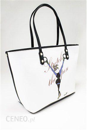 85f2192b72a06 Love Moschino torba duża biała - Ceny i opinie - Ceneo.pl