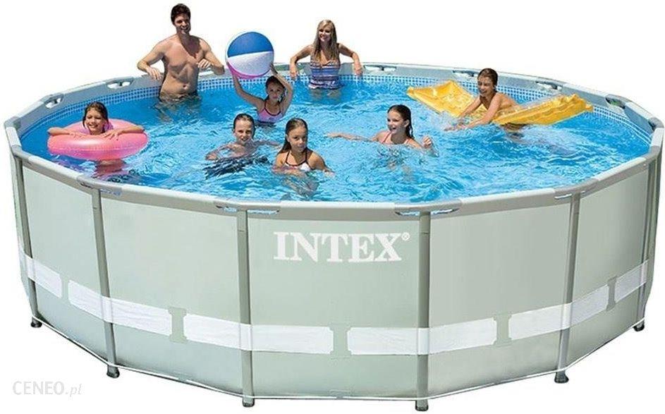Intex Ultra Frame Basen Stelażowy 488x122 Gdynia Sklepy