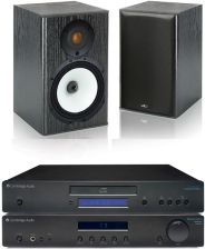 CAMBRIDGE AUDIO AM10 + CD5 + MONITOR AUDIO MR1
