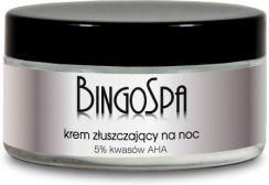 BingoSpa krem złuszczający na noc 5% kwasów AHA 100 g