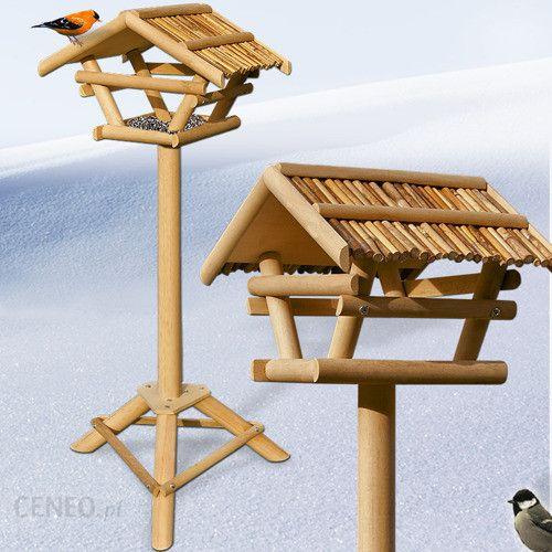 karmnik stojacy dla ptak w budka domek do ogrodu ceny i. Black Bedroom Furniture Sets. Home Design Ideas