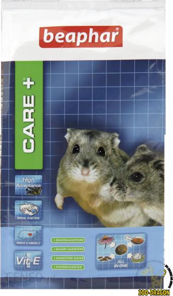 Care+ Dwarf Hamster karma super premium dla chomików karłowatych 700g