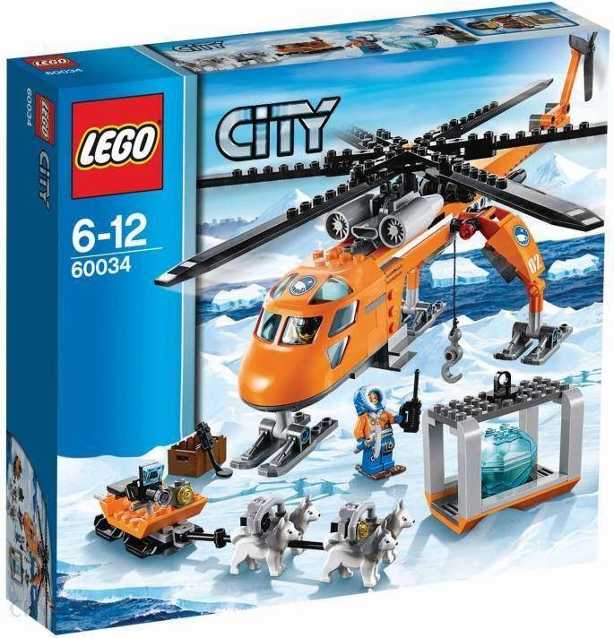 Klocki Lego City Arktyczny Helikopter 60034 Konin Sklepy Ceny I