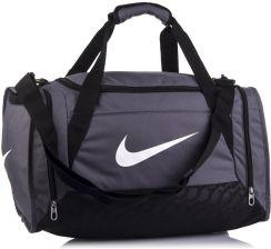 144ae9ad6ab67 Torba sportowa Brasilia 6 Small 44 Nike - szary - Ceny i opinie ...