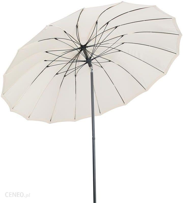 Parasol Ogrodowy Praktiker Parasol Ogrodowy 250cm Jazny Beż Ceny I Opinie Ceneopl