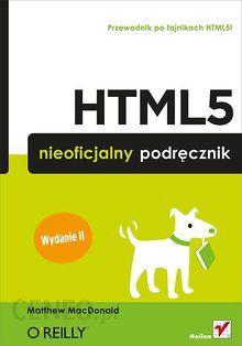 html5 nieoficjalny podręcznik