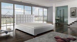 Meble Marzenie łóżko Dolores Z Pojemnikiem Na Pościel 160x200 Materac Kieszeniowy 160x200
