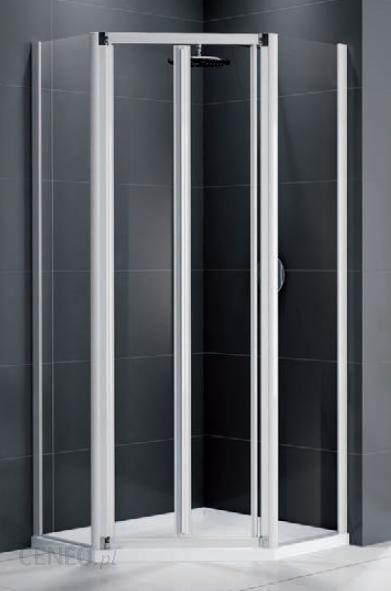 Kabina Prysznicowa Novellini 5 Kątna Z Drzwiami Harmonijkowymi Z