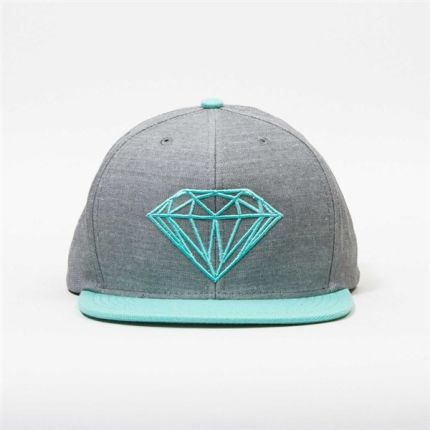 czapka DIAMOND - Brilliant Grey Dblue (GYDB)
