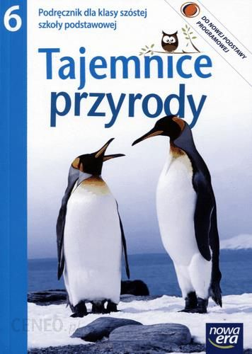 Masywnie Podręcznik szkolny Tajemnice przyrody. Klasa 6, szkoła podstawowa PG38