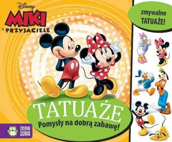 Tatuaże Myszka Miki I Przyjaciele