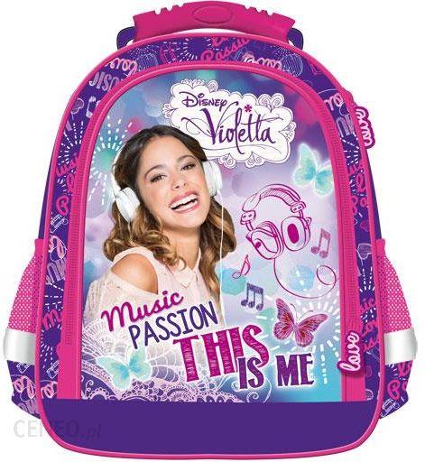 660a87e8269c1 St.Majewski Plecak Szkolny Violetta Licencja Disney (22623) - Ceny i ...