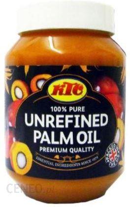 Nierafinowany Olej Palmowy