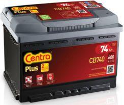 Centra Plus CB 740 74Ah 680 A P+