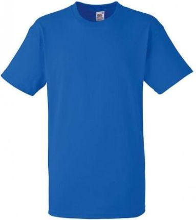 628acd0a4 Heavy Cotton Tee męska koszulka Fruit of the loom niebieski t-shirt/ royal  blue