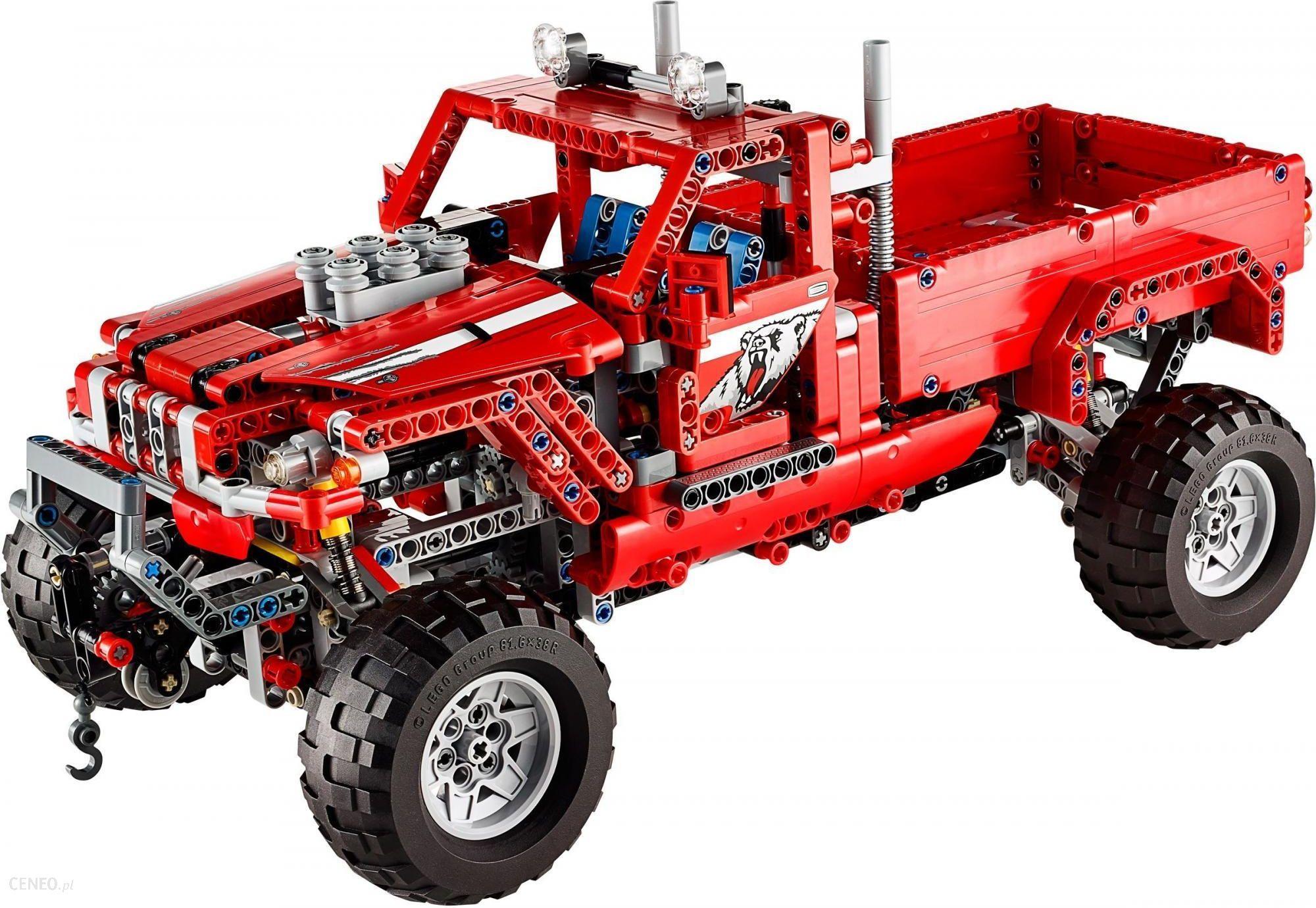 Klocki Lego Technic Ciężarówka Po Tuningu 42029 Ceny I Opinie