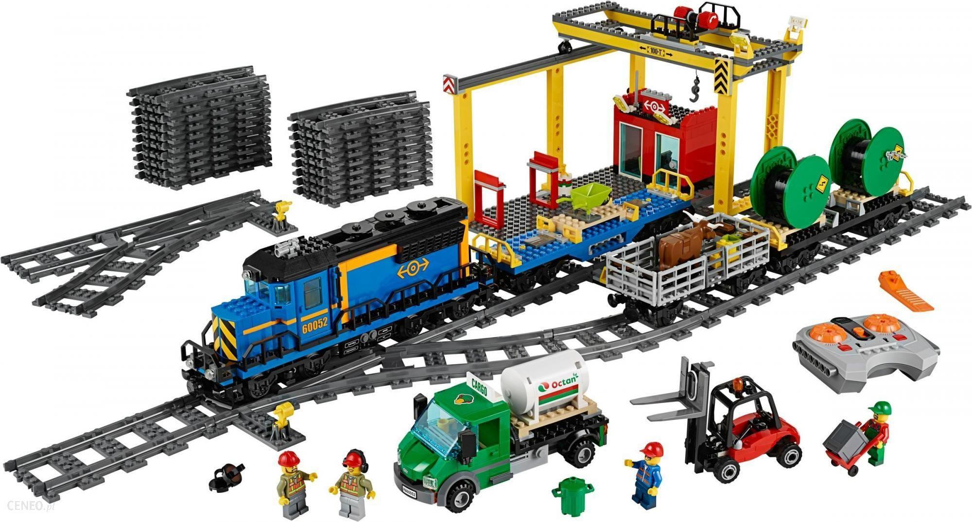 Klocki Lego City Pociąg Towarowy 60052 Ceny I Opinie Ceneopl