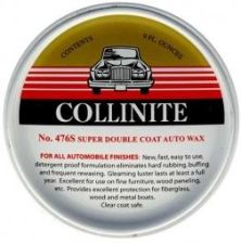 Wosk COLLINITE SUPER DOUBLE COAT AUTO WAX #476s Ekstremalnie twardy wosk w paście 266ml CO-476