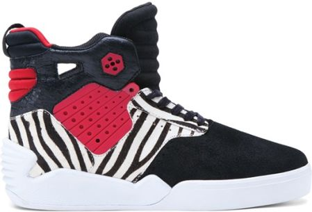 buty SUPRA - Skytop Iv High Black/Red (BKR)