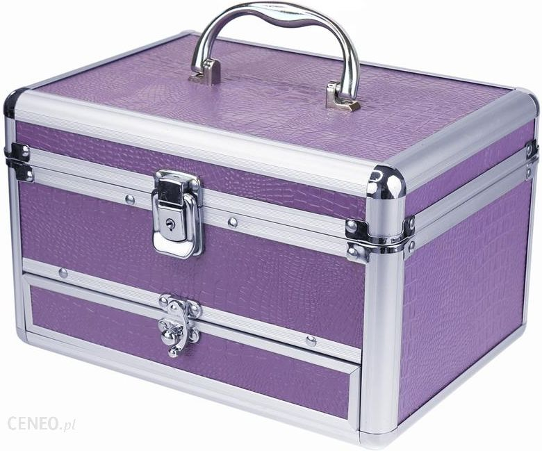 50c8dc844468a Inter Vion Kufer kosmetyczny 499244 FIOLETOWY - Opinie i ceny na ...