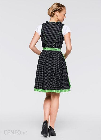 c9496459c500 Sukienka ludowa z bluzką i fartuchem czarno-czerwony - Ceny i opinie ...